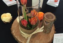 Floral table decorations / Floral decorations to make the tables stand out at your special occasion.