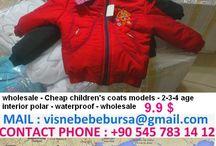 wholesale - cheap children's coats models waterproof / wholesale - cheap children's coats models waterproof contact : +90 545 783 14 12