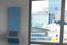 Virtual reception touchscreen kiosk