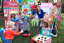 Carnival Games Party Ideas / Carnival games party has many opportunities for fun and celebration, from clowns to tickets booths to carnival food! #carnivalparty #BirthdayExpress