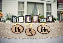 .{mr. & mrs.} ♥ Rustic Country Wedding / by KAM
