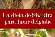 la dieta de Shakira