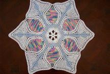 Doilies lace crochet