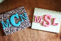 Monogramming  / by Lauren Hill