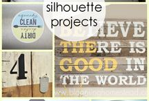 Silhouette Cameo / Projects for my Silhouette Cameo / by Abigail Gurrusquieta