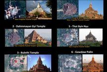 Pyramid Temples of Asia (Myanmar)