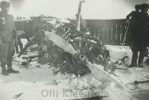 Shot down Soviet aircraft in Finland WW II