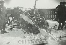 Shot down Soviet aircraft in Finland WW II