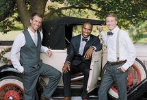 Wedding Gentlemen / See the latest stylish and trendy outfits for men. The groom and the groomsmen can be just as stylish as the ladies!