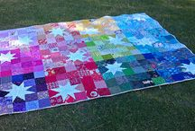 2 1/2-inch square block quilts / These quilts are made using 2 1/2-inch squares or I think I can modify them to use 2 1/2-ich squares. / by Sherri Osborn {Family Crafts}