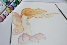 I dream of art and illustrations