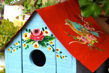 Bird homes & Feeders
