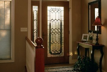 Front Door Ideas / Your front door is the first thing guests see when they visit your home. Choose a quality entry door from Waudena Millwork. We have a style to fit every architectural and design preference.  From more information or to find a dealer near you: waudenamillwork.com #frontdoor