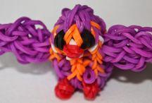 Loom / Deze looms zijn gemaakt door Bart (9) en zijn tante Marjo. Op ons blog kun je alle looms bekijken die wij hebben gemaakt en de lezen hoe je zelf deze looms kunt maken.