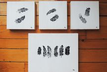 Stamps / Lino cuts