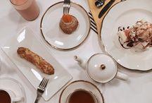 Café et le dessert