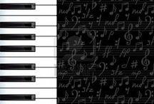 Clipart - zene, hangszerek (Music and Instruments)