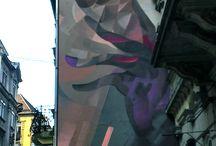 Street art Budapest / У Будапешті майже немає випадково розмальованих стін. Будапештський street art – це одна велика й цілісна виставкова галерея урбаністичного вуличного мистецтва.