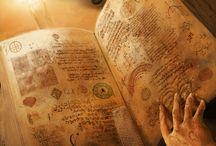 Magical B: Books, spells, items
