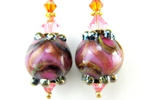 lampwork beads I like / These beads made by other clever clogs have caught my eye for different reasons, and needed saving for future ogling !!! / by Kerry M Howard