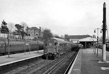 Old railway scenes