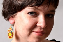 soutache martazare photo session / soutache earring & neackle photo session
