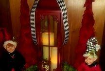 Holiday Decorating / Debbie Kennedy Events & Design www.debbiekennedyevents.com https://www.facebook.com/DebbieKennedyEvents