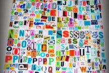 letters/words/magazine / by SiouxEQ