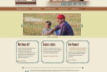 My Designs - Websites / A portfolio of custom western web designs that I've created for my clients.