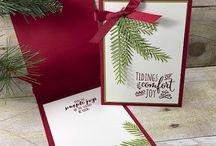 stampin up christmas pines