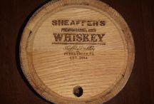 Custom Engraved Barrels / Pictures of Custom/Personalized Oak Barrels