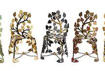 Des créations artistiques de Joy de Rohan Chabot / Les Chaises sculpturales