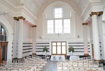 Studio 3 - Talbot Hall / Period features and marble floors, exuding historical elegance. Perfect for wedding ceremonies and parties.