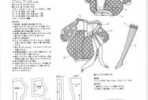 clothdoll dress patterns