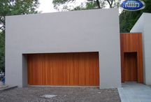 Heritage Classic Carriage Style Wood Garage Doors / Custom Wood Garage Doors
