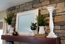I need fireplace mantel ideas!