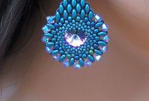 gioielli con perline: orecchini
