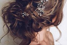 Прическа невесты