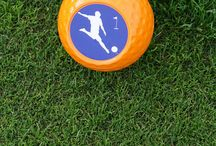 FootGolf / FootGolf is a combination of the popular sports of soccer and golf played on a golf course. It can be played by those who golf and those who do not. A sport the hole family can play.