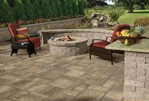 Firepits & Fireplaces / Whether you're seeking a sleek, custom-built outdoor gas fireplace or a beautiful yet old-fashioned wood-burning fire pit, the team of artisan masons at Above All Masonry can help bring your vision to life.
