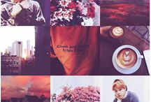 Mood boards and photos