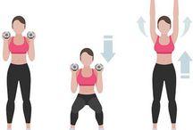 Exerciții cu greutati