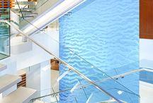 Harmonic environments (cascate d'acqua) / Cascate d'acqua design per interni ed esterni