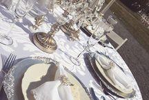 Svatební dekorace / Svatební tabule
