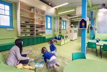 Детский сад, Школа Дизайн. Kindergarten,School interior design