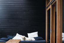 Inspiring Black & Cedar / Two of the best architectural aesthetics combined.