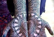 ornate and lush tattoos and henna