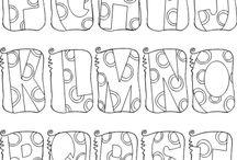 Letters / by Deborah Hendrickson
