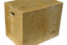 Wood Plyo Boxes / Wood Plyo Boxes