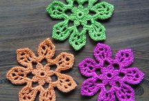Horgolt virág / Crochet flowers / Crochet flowers
